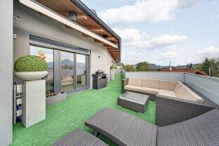 Dachgeschoßwohnung-Penthouse mit großer Dachterrasse und phantastischen Fernblick