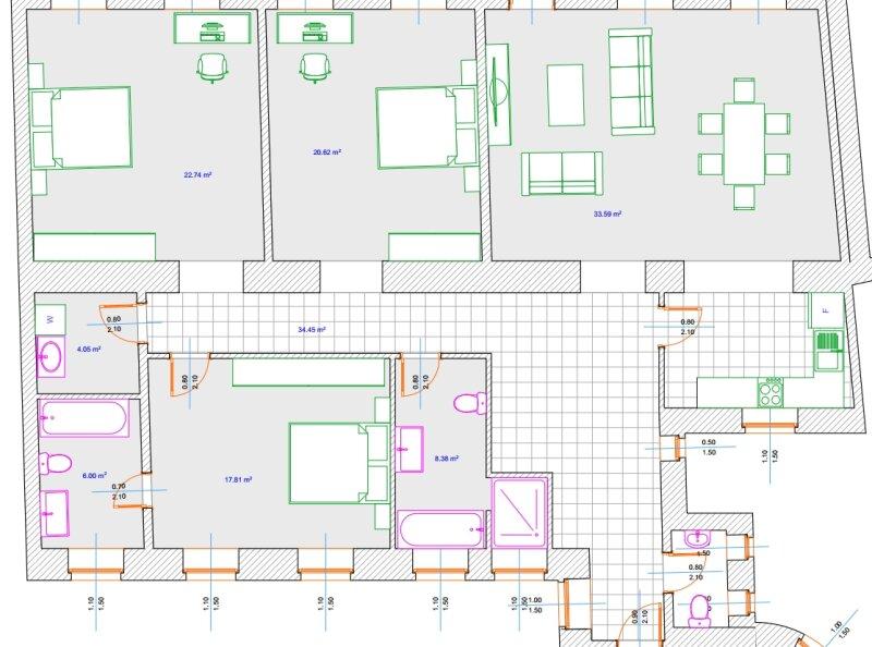 ++NEU** Hochwertiger 4-Zimmer ALTBAU-ERSTBEZUG, toller Stilaltbau, perfekte Raumaufteilung! **Hofruhelage** VIDEOBESICHTIGUNG! /  / 1030Wien / Bild 6