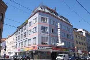 FLORIDSDORF - AM SPITZ: 87 m² Dachwohnung (3-Zimmer) mit 62 m² Dachterrasse 360 Grad-Ausblick