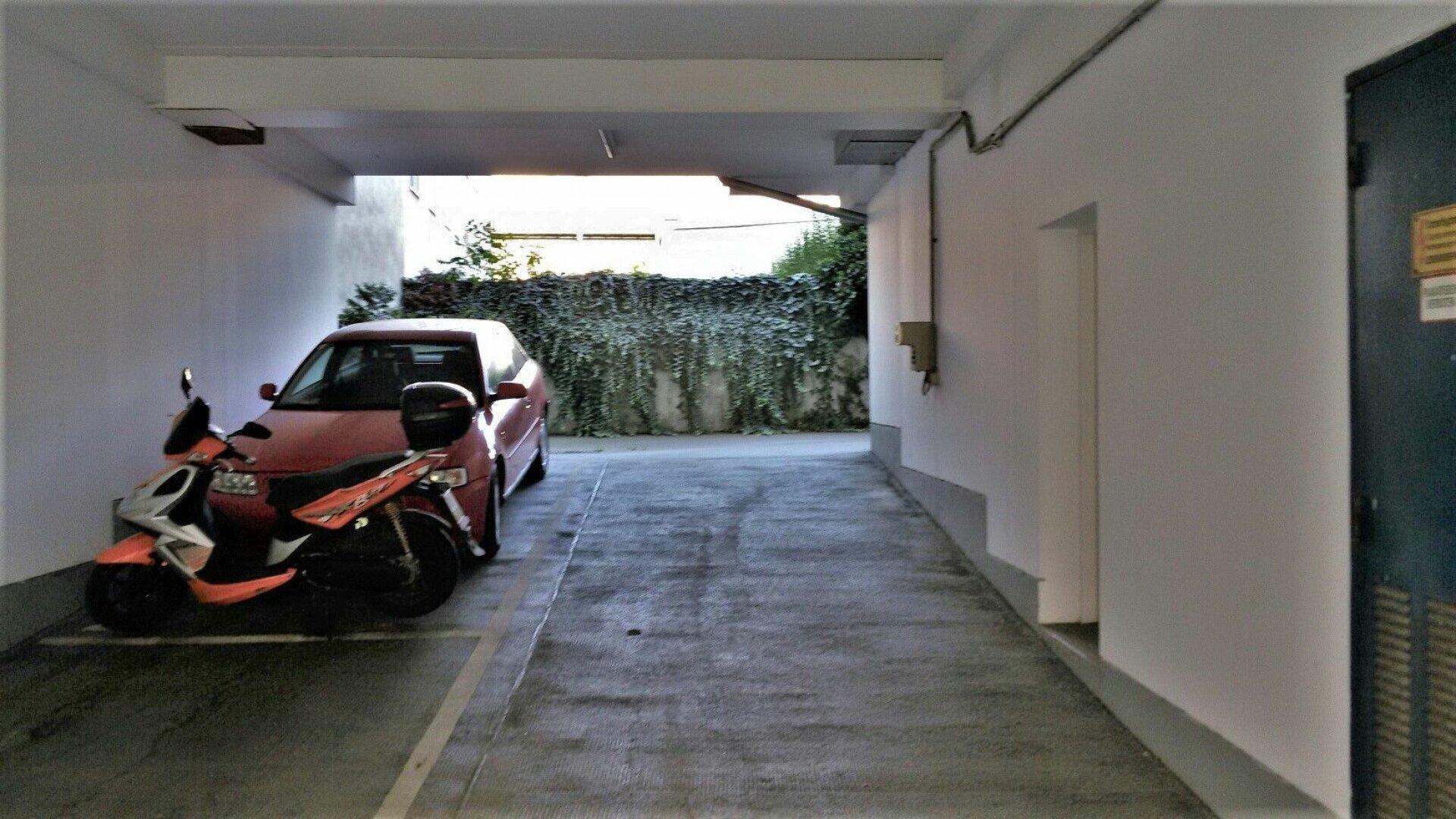 Garagendurchfahrt