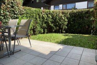 Helle 2-Zimmer-Wohnung mit Garten und TG-Platz!