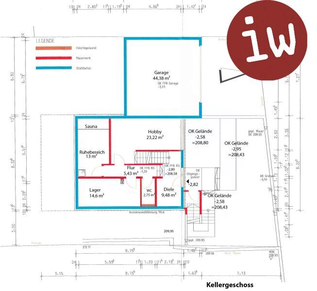 Geräumiges Einfamilienhaus in idyllischer 7.000 m² Grün-Lage mit Blick auf den Ölberg Objekt_377 Bild_90