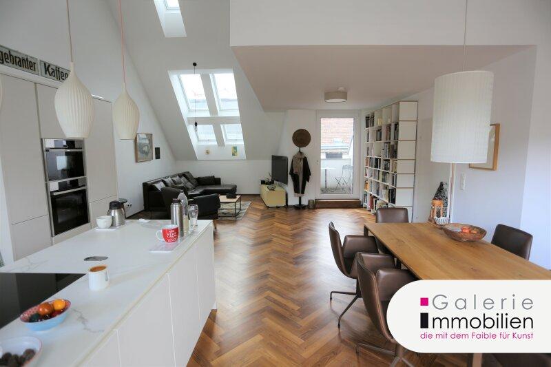 Außergewöhnliche DG-Wohnung mit Terrasse auf Wohnebene - Garagenplatz Objekt_34973 Bild_53