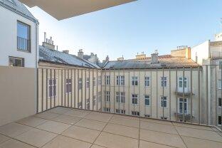 ruhige Erstbezugswohnung mit Balkon in unmittelbarer Zentrumsnähe - ab sofort beziehbar!