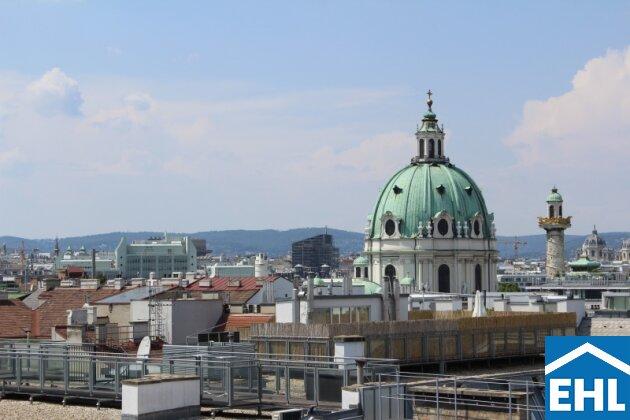 Blick Karlskirche