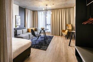 Provisionsfrei: Vollmöbliertes Apartment in Bestlage im QBC am Hauptbahnhof Wien - SMART+