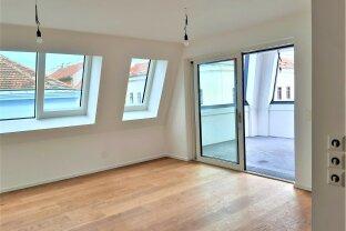 TOP- Dachgeschoß-Wohnung mit gedeckter Terrasse in einer Ebene, ERSTBEZUG, für Anspruchsvolle !