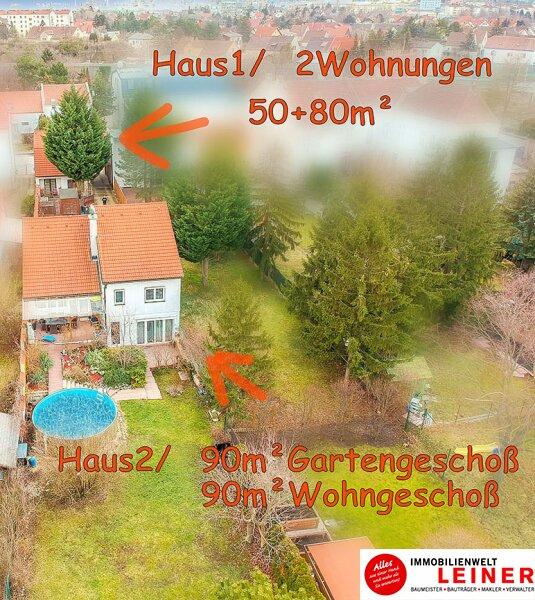 1110 Wien -  Simmering: Extraklasse - 1000m² Liegenschaft mit 2 Einfamilienhäuser Objekt_8872