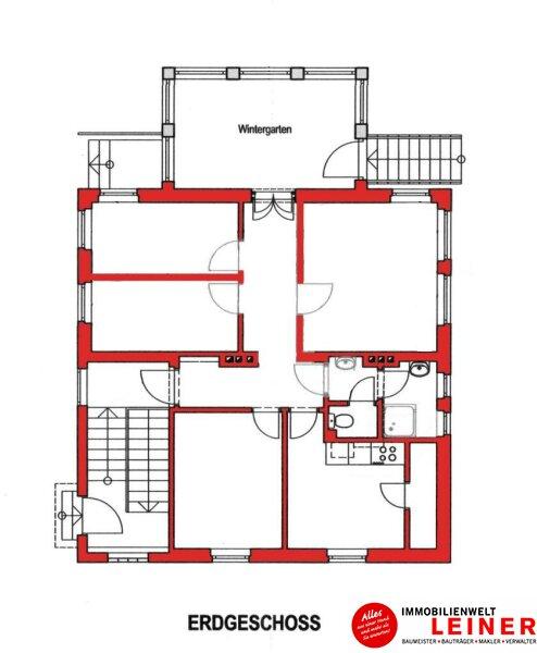 Schwechat: Saniertes Haus mit 2 getrennten Wohneinheiten zu mieten - auch für Praxis geeignet Objekt_10791 Bild_305