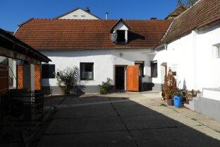 ROMANTISCHER, RENOVIERTER BAUERNHOF mit Baugrundstück - Nähe Neusiedlersee - 260m² Wnfl.- Leichte Hanglage mit Fernblick,Garten und Innenhof