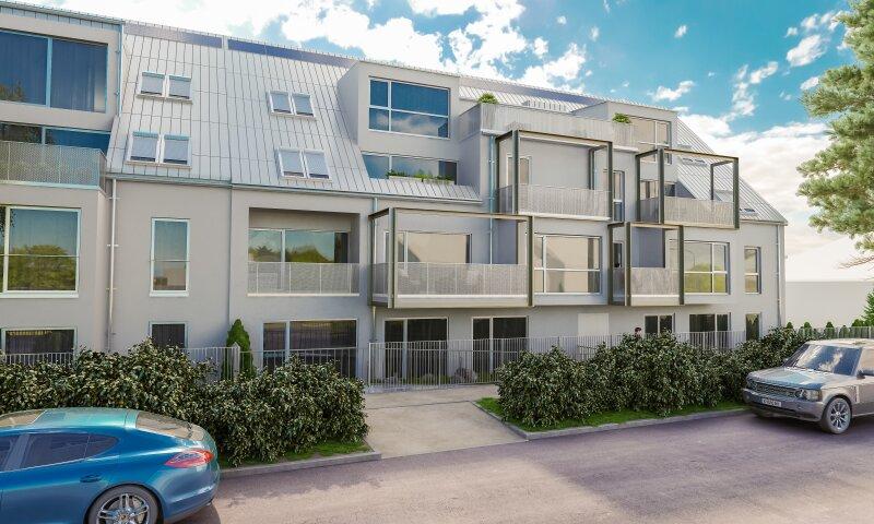 0% Provision! Erstbezug: modern, grün + Balkon - Exklusives Wohnidyll nahe U1 Kagran