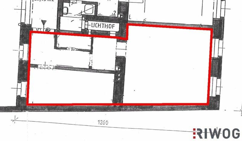 ***Charmante Altbauwohnung---Saniertes Haus---Schlafzimmer mit Innenhoflage*** /  / 1050Wien / Bild 2