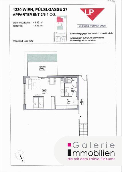 Sehr gute Anlagemöglichkeit -  3 herzige Apartments mit Terrasse und Gärtchen an bester Lage Objekt_33589
