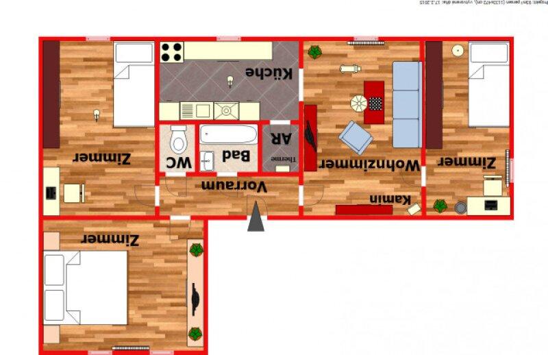 4 - Zimmer Wohnung / ca. 93m² groß mit allgemein nutzbarem Garten in Persenbeug! /  / 3680Persenbeug - Gottsdorf / Bild 8