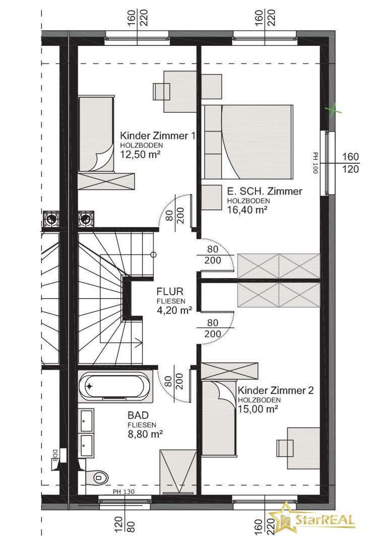 HAUS 6 Obergeschoss