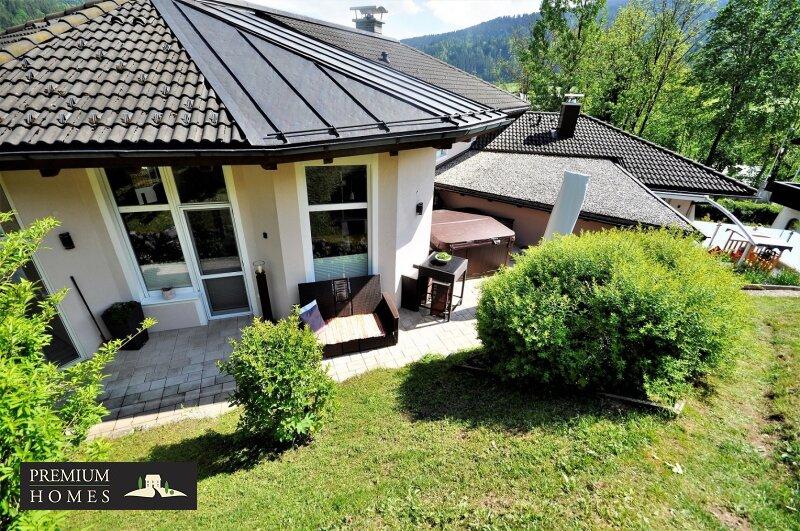 Kirchbichl Zweifamilienhaus_ hohe Qualität mit Modernen Design_Garten-Harmonie mit Terrasse