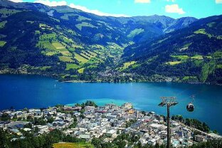 5700 Zell am See - exclusive Mietwohnung in renovierter VILLA direkt in Zell am See
