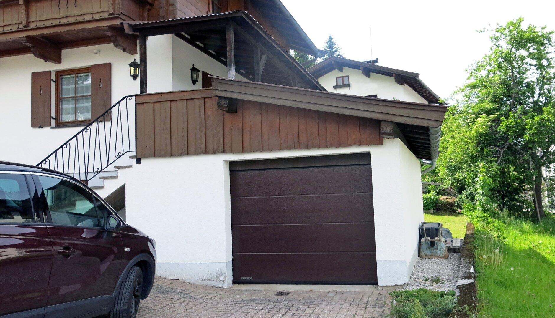 Ansicht Garage, Einfamilienhaus Fieberbrunn