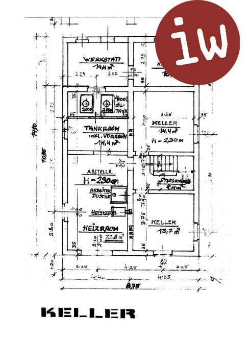 Großzügiges 260m² Einfamilienhaus mit 7 Zimmer und großem Garten in Weidlinger Grünruhelage zu mieten