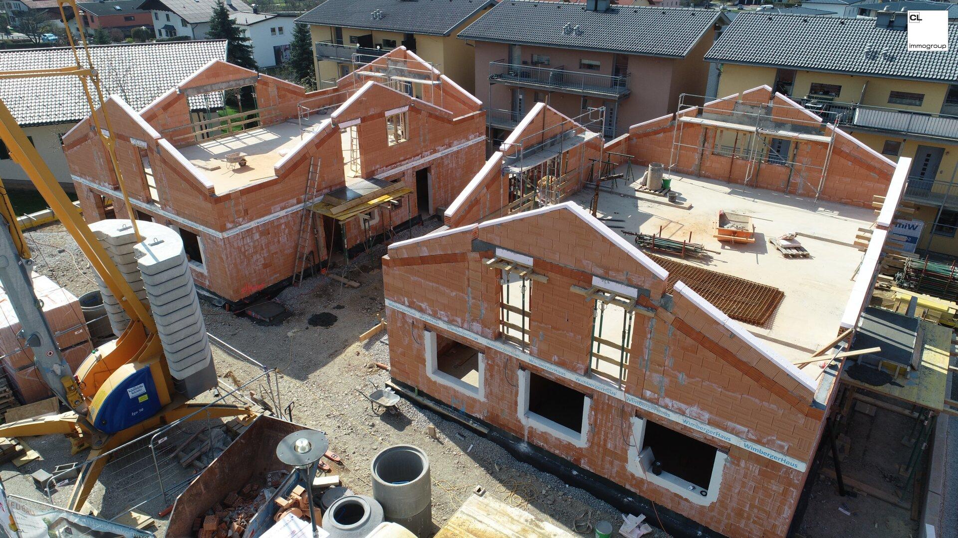 Baustellenfoto G 2 - Wohnungen in St. Georgen