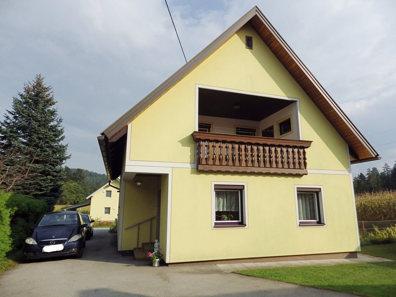 Haus Ansicht West