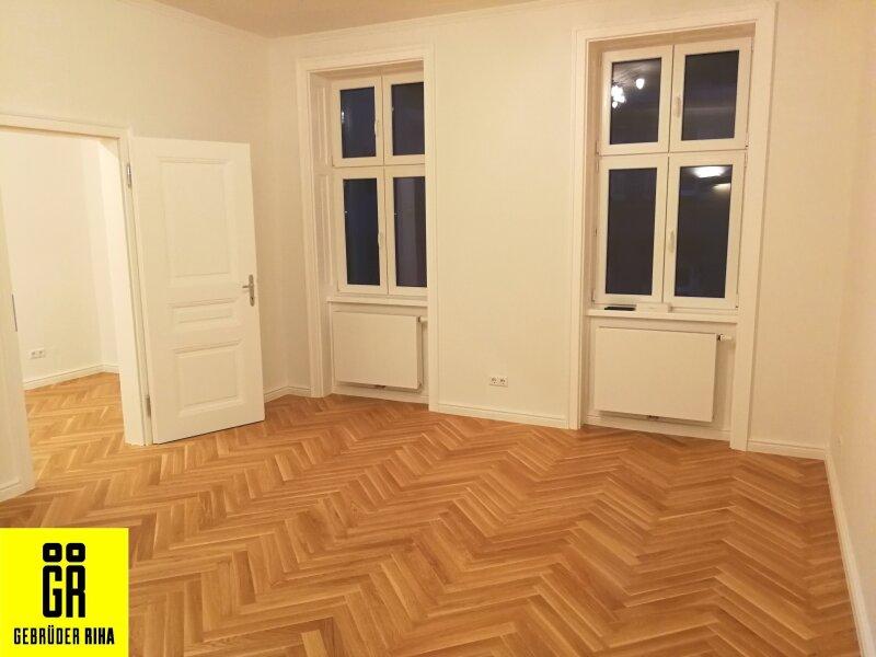 ERSTEBZUG nach Sanierung - 2 Zimmer Stil ALTBAU Wohnung - 1090 Wien - 3. OG - Top 22 - SMARTHOME - U6 Nähe - geplanter Lift