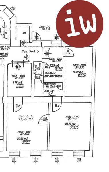 3-Zimmerwohnung in Gründerzeithaus, Toplage 1180 Wien - Währing Objekt_565 Bild_243