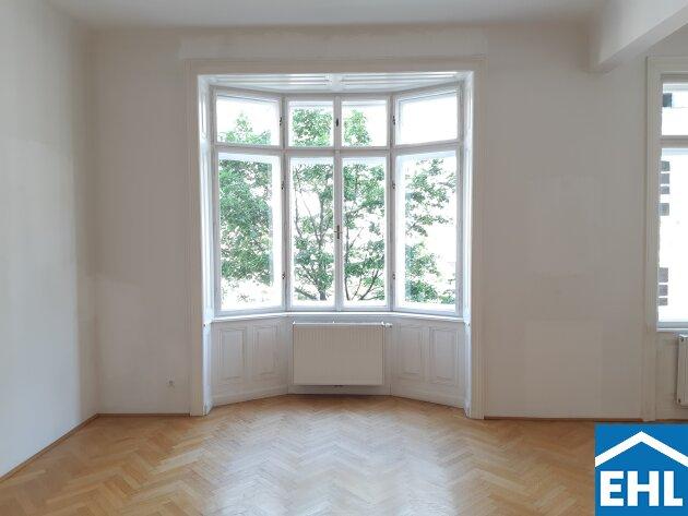 Repräsentative 3-Zimmer-Altbauwohnung im Bezirk Neubau