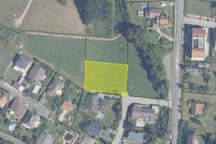 1444 m² BAUGRUNDSTÜCK in Wolfsgraben (13 km von Wien-Westausfahrt)