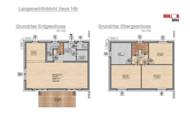 Doppelhaushälfte in sonniger ruhiger Lage in Langenschönbichl im Tullnerfeld