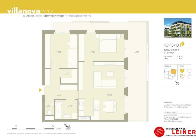 ACHTUNG! KAUFANBOT LIEGT VOR! Schwechat - Eigentumswohnung mit traumhafter, sehr großer Terrasse Objekt_12015 Bild_102