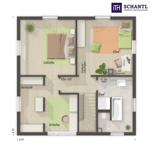 ITH #WOW! Leistbares Einfamilienhaus mit Südausrichtung und Fernblick + 4 Zimmer + 5 Jahre Gewährleistung + Fertigstellungsgarantie inklusive!!! /  / 8551Wies / Bild 2