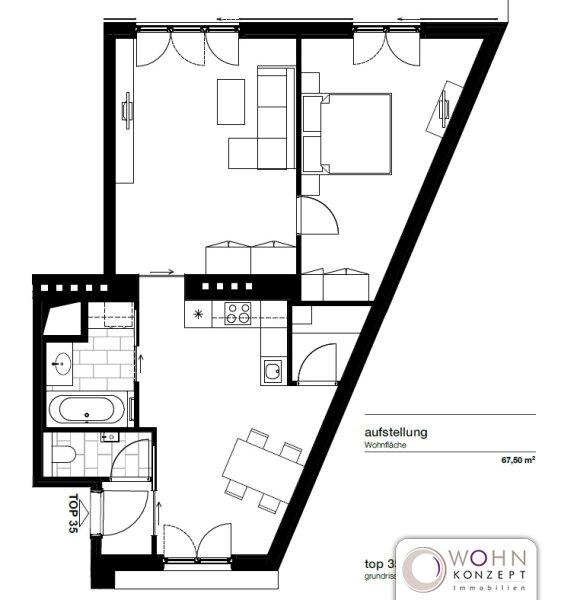 Moderne Dachwohnung  in 1050 Wien /  / 1050Wien / Bild 7