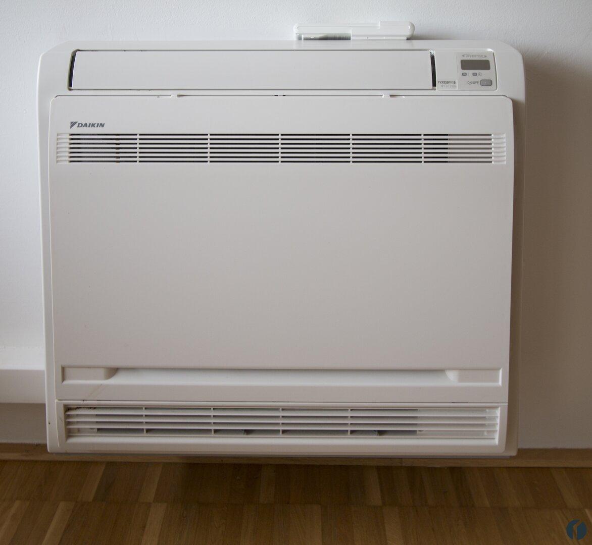 Klimagerät im Wohnzimmer