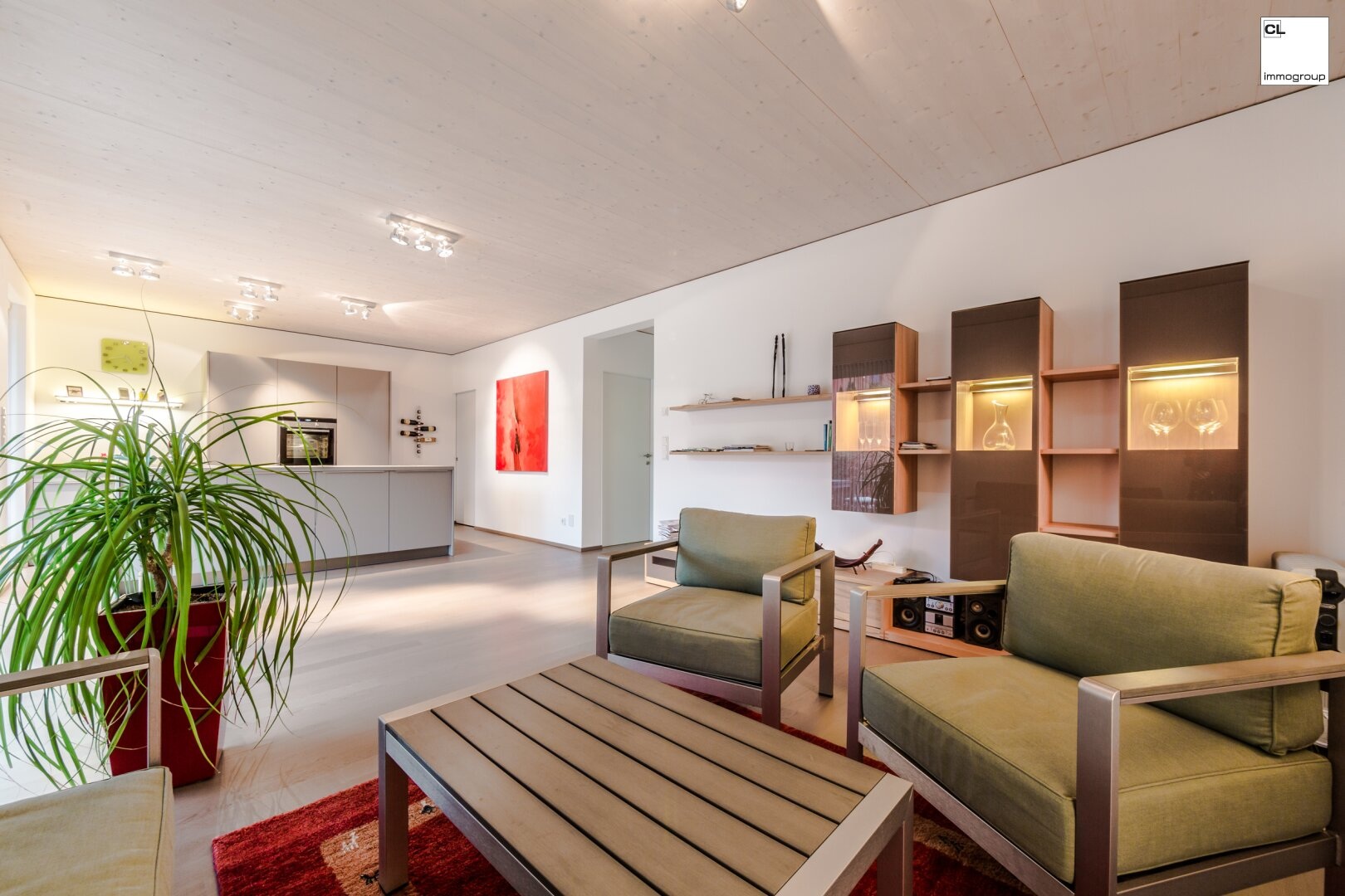 Hochwertige Wohnung in Mondsee - Wohnbereich