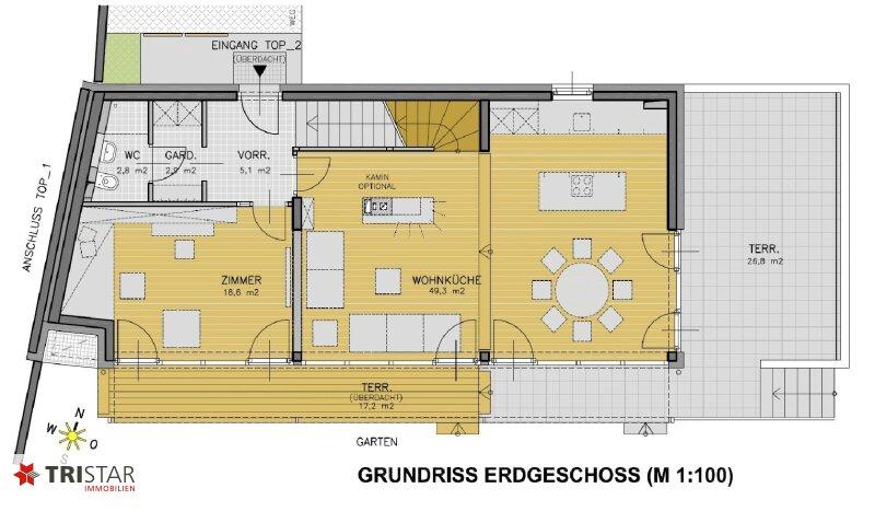 :::Modernes Niedrigenergie-Doppelhausprojekt in Bestlage Klosterneuburgs - Qualität und Stil im Baurecht::: /  / 3400Klosterneuburg / Bild 8