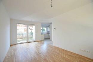 ERSTBEZUG: Reihenhaus mit Terrasse, Fußbodenheizung, Garten, Keller + Stellplatz