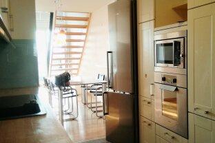 Schöne 4 Zimmer-Maisonetten-Wohnung mit zwei Loggien nahe der Vienna International School (VIS) / U1 - Kagran !