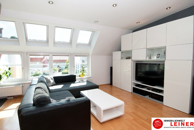 Schwechat - Beeindruckend Wohnen - Maisonette Penthouse Wohnung über den Dächern der Stadt Objekt_8955 Bild_811