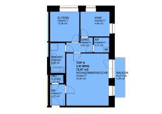 3-Zimmer-Wohnung mit Balkon - Photo 8