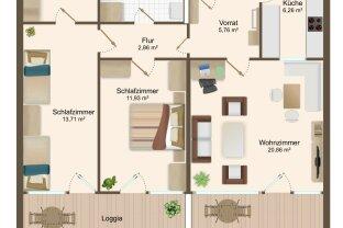 Purkersdorf-Wohnung für Heimwerker!