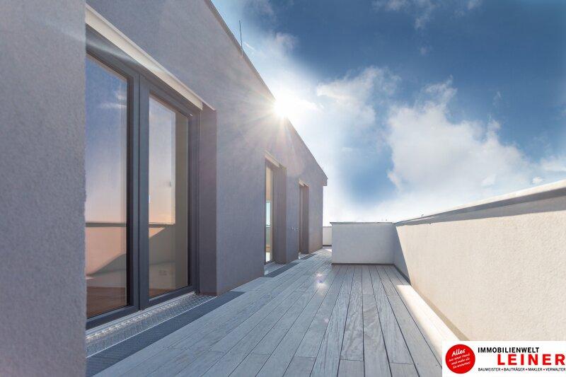 100 m² PENTHOUSE *UNBEFRISTET*BARRIEREFREI*Schwechat - 3 Zimmer Penthouse im Erstbezug mit 54 m² großer südseitiger Terrasse Objekt_8816 Bild_605