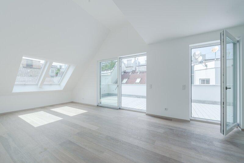 ++NEU++ Hochwertiger 3-Zimmer DG-Erstbezug, tolle Aufteilung! riesige Dachterrasse, toller Ausblick!! ***Videobesichtigung*** /  / 1200Wien / Bild 1