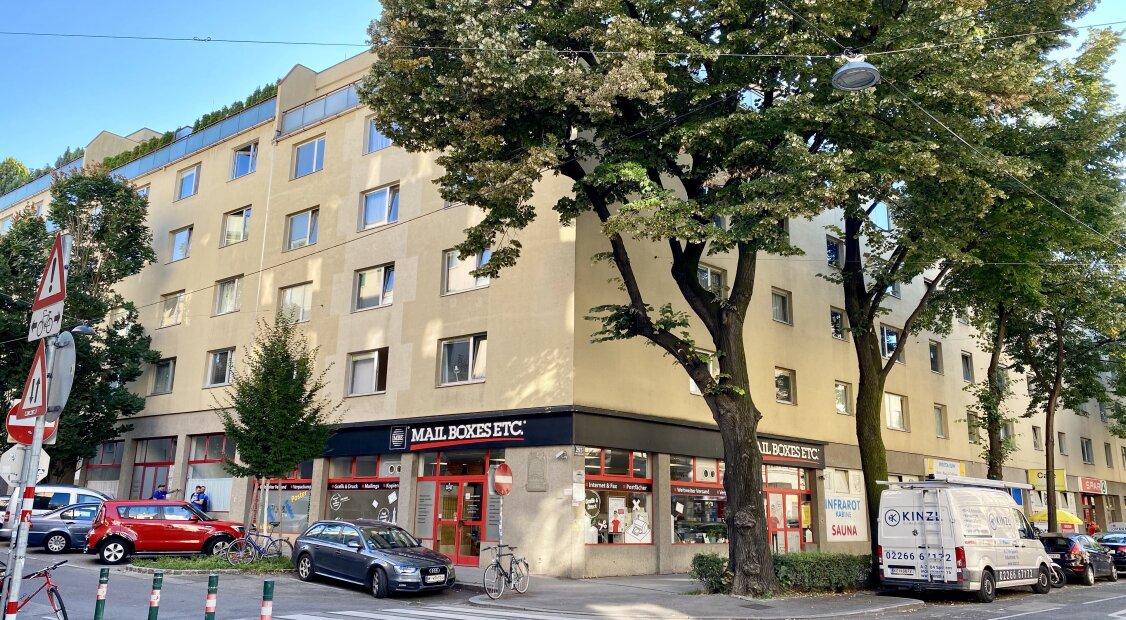 Große 4-Zimmer Wohnung mit Süd-Loggia - U4 in 5 Minuten erreichbar - auch perfekt als 3er WG - da alle Räume zentral begehbar sind