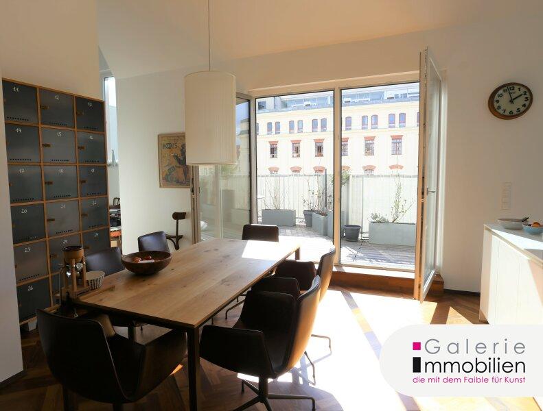 Außergewöhnliche DG-Wohnung mit Terrasse auf Wohnebene - Garagenplatz Objekt_34973 Bild_48