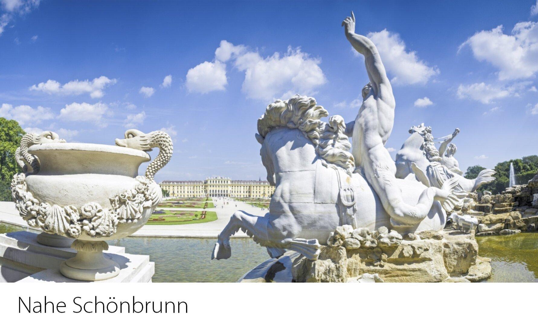 Nahe Schoß Schönbrunn