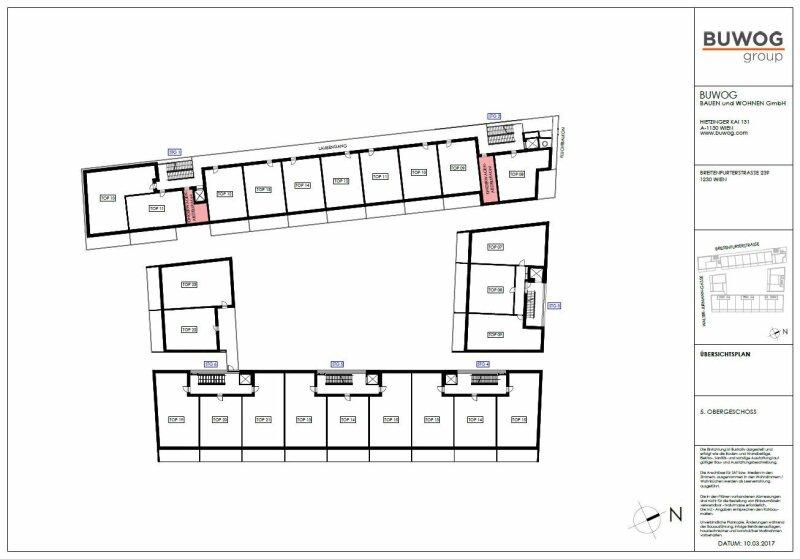 ERSTBEZUG & UNBEFRISTET: Großzügige 2-Zimmer-Wohnung im 5. Stock mit Innenhof-Loggia und Gemeinschafts-POOL am Dach - PROVISIONSFREI /  / 1230Wien / Bild 1