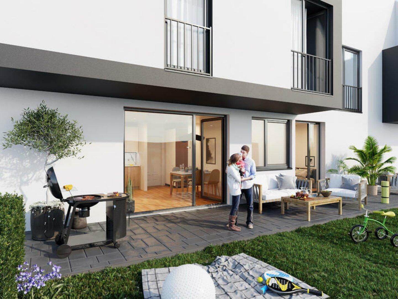 Innenhof-Terrasse