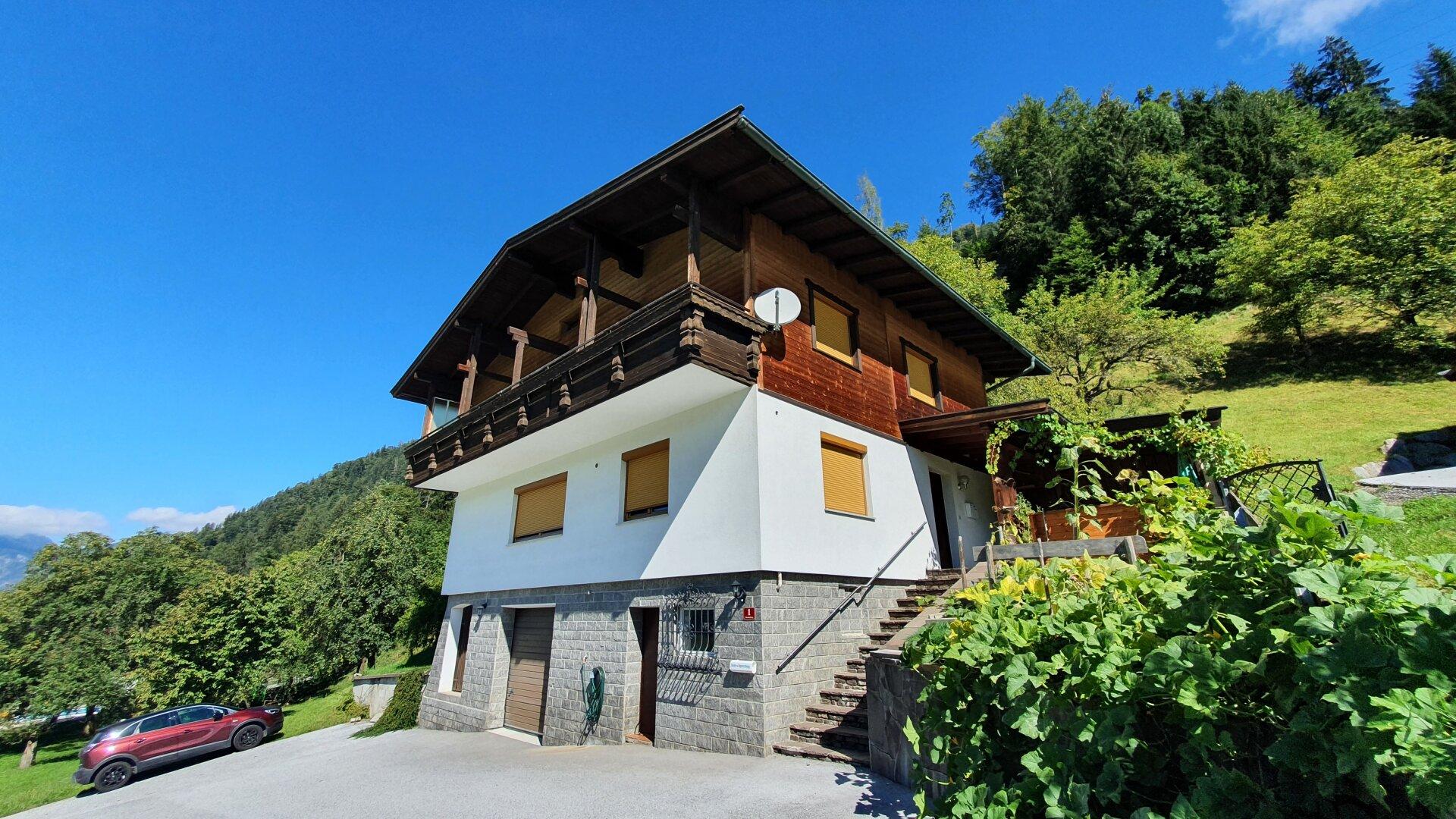 Einfamilienhaus Kirchbichl, Ansicht Hauszugang