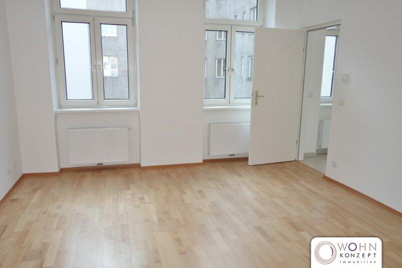 Erstbezug: tolle 1 Zimmerwohnung nähe Viktor-Adler-Markt